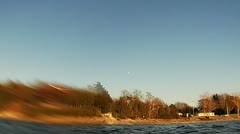 Smallmouth Bass Epic Jump Stock Footage