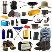 Camping Gear - stock photo