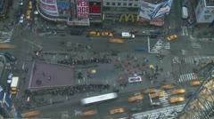 20090228 154 NYCTimesSquareTimelapse Stock Footage
