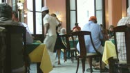 Stock Video Footage of Dancing In A Cuban Restaurant