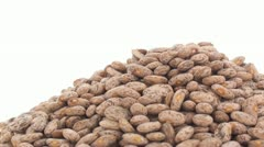 Pinto beans zoom in 4 Stock Footage