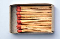 Matchstick Stock Photos