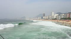 Copacabana, Rio de Janeiro FULL HD 1080 Stock Footage