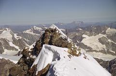 Matterhorn italian summit Stock Photos