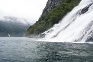 Norway - Bridal Veil Falls - Geirangerfjord Stock Photos