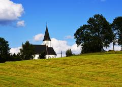 Village church - stock photo