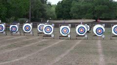 Archery - stock footage