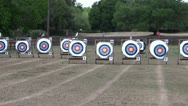 Stock Video Footage of Archery