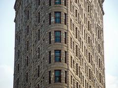 Flatiron Building in New York City - stock photo