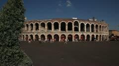 Verona arena Stock Footage