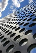 Architecture abstract and sky - stock photo