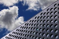 Architecture detail and sky - stock photo