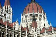 Stock Photo of Budapest Parliament building