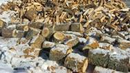 Firewood Stock Footage