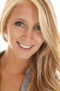 Woman business head shot smile Stock Photos