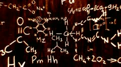 3D Chemistry v02 01 720 - stock footage