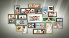 Montage of families having fun together Stock Footage