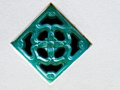 Chinese ventilation tile Stock Photos