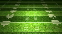 American Football Field 01 720 - stock footage