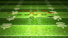 American Football Tactics 05 720 - stock footage