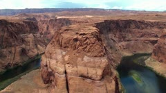 Horseshoe Bend. Arizona, USA. Stock Footage
