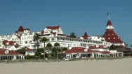Stock Video Footage of Hotel Del Coronado. San Diego, California, USA