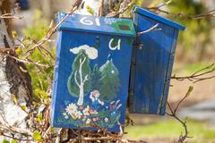 Stock Photo of mailbox