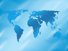 Tausta aukiot ja maailmankartalle Piirros