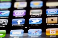 Stock Photo of iphone 4 apps