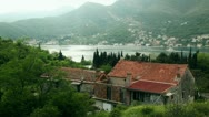 Stock Video Footage of Montenegro fjord balkan rustic