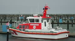 SEA rescue Boat SAR Stock Footage