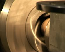 Production of lathe in a factory Stock Footage