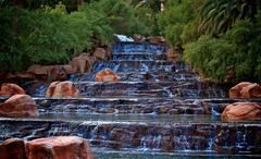 Vegas Waterfall - stock photo
