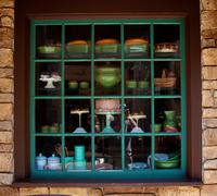 French Window - stock photo