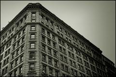 Old New York Building - stock photo
