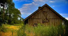 Old Barn - stock photo