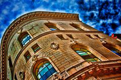 Golden Building - stock photo