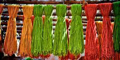 Color Yarn - stock photo