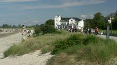 Heiligendamm Beach - Baltic Sea, Northern Germany Stock Footage