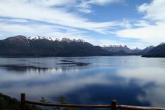 Patagonia lake Stock Photos