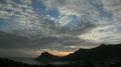 Sunset ,Houtbay,Timelapse Stock Footage