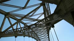 Pittsburgh's West End Bridge Stock Footage