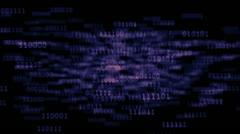Binary Code 001 - Enlightment - 25 fps Stock Footage