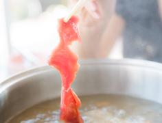 shabu sukiyaki japanese food style - stock photo
