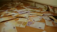 Stock Video Footage of money in closet - HD