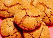 Molasses Cookies Stock Photos