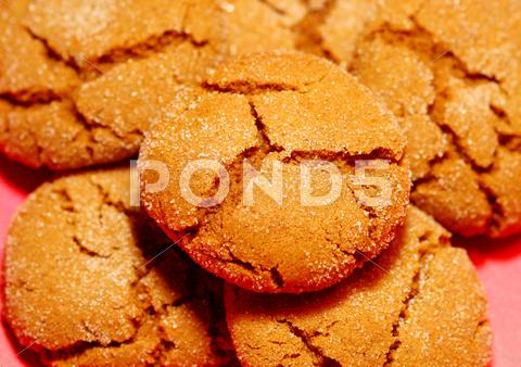 Stock photo of Molasses Cookies