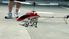 R/C Helicopters, Remote Control Toys, Drones, Aircraft - stock footage