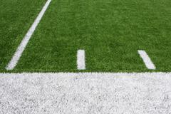 Amerikkalainen jalkapallo kenttä jaardin viivojen Kuvituskuvat