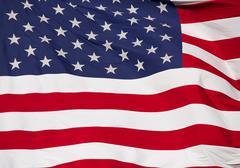 unites states flag close up - stock photo